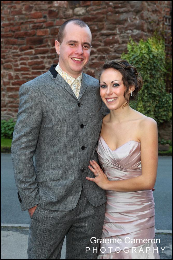 Edenhall cumbria wedding