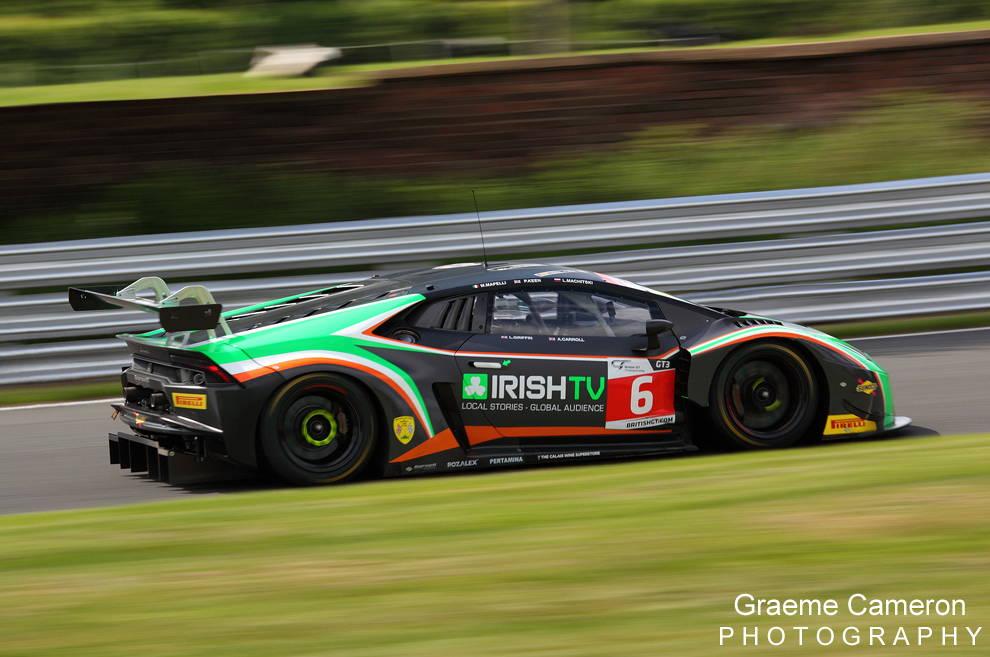 Barwell Motorsport Lamborghini 8
