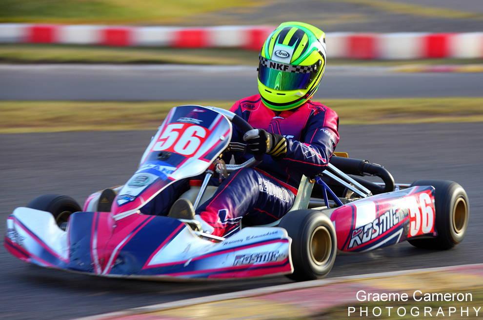 Karting at Rowrah