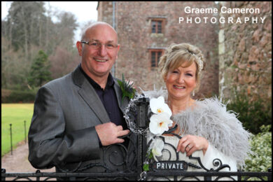 Wedding Photography at Muncaster Castle, Lake District, Cumbria