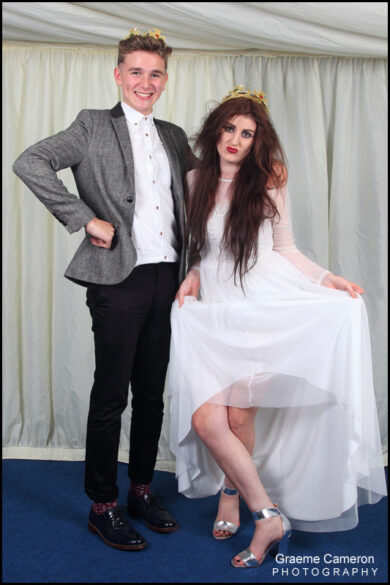 Great fun being a School Prom Photographer