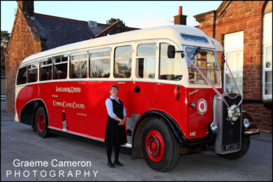 Cumbria Classic Coaches for Weddings