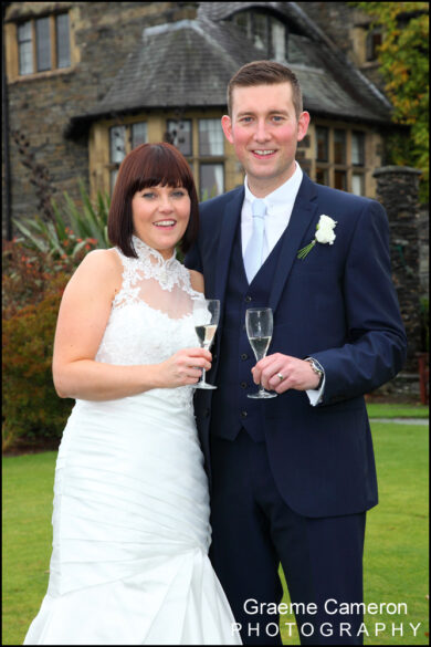 Fun Wedding at Cragwood Country House