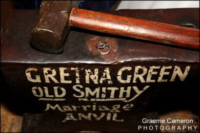 Famous Blacksmiths Shop Gretna Green Weddings