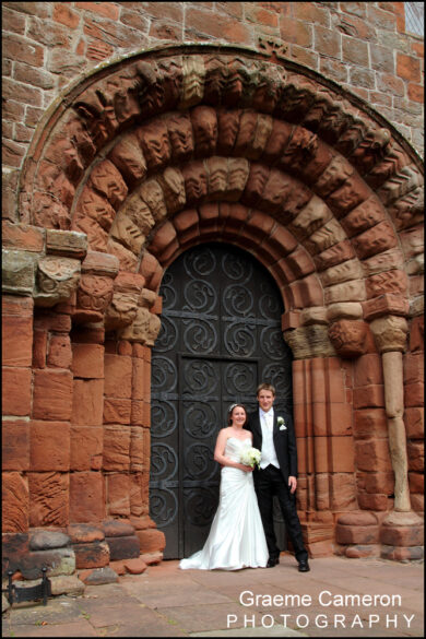 Wedding at St.Bees Priory Church
