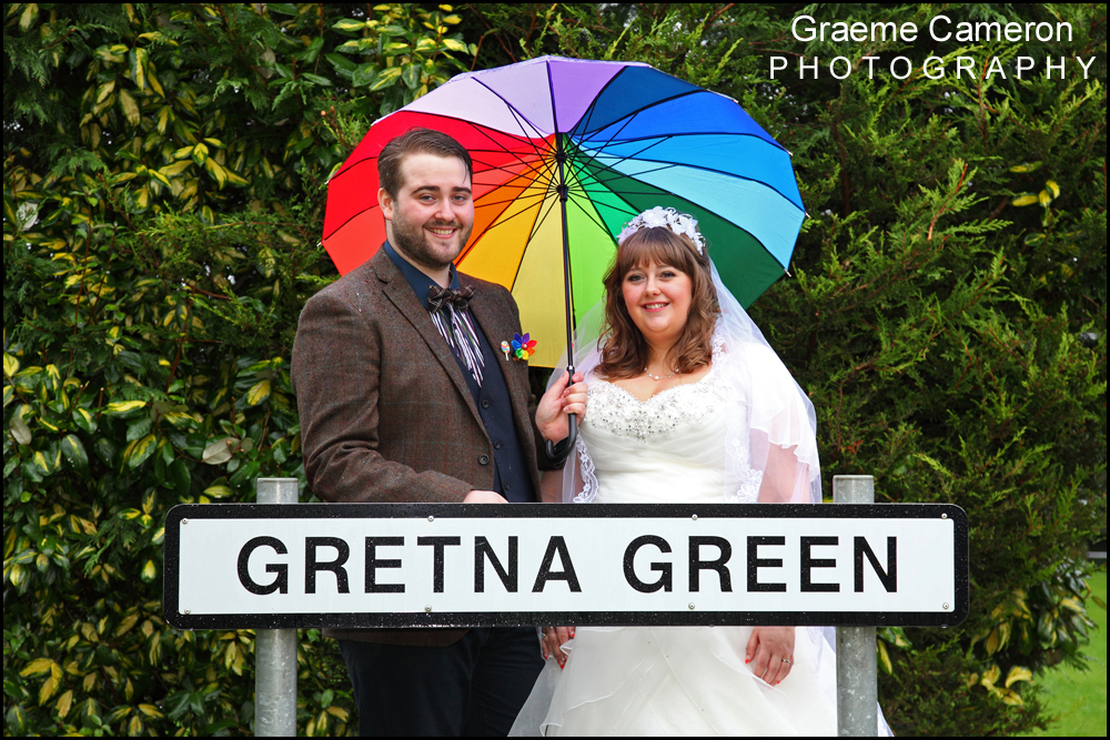 Wedding Photographers Mill Forge Gretna Green