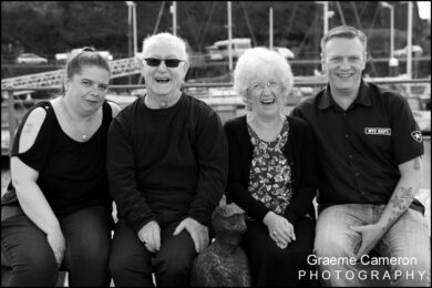 Family Portraits on Whitehaven Harbour