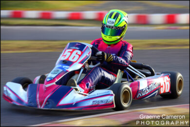 Kart Racing Photography at Rowrah
