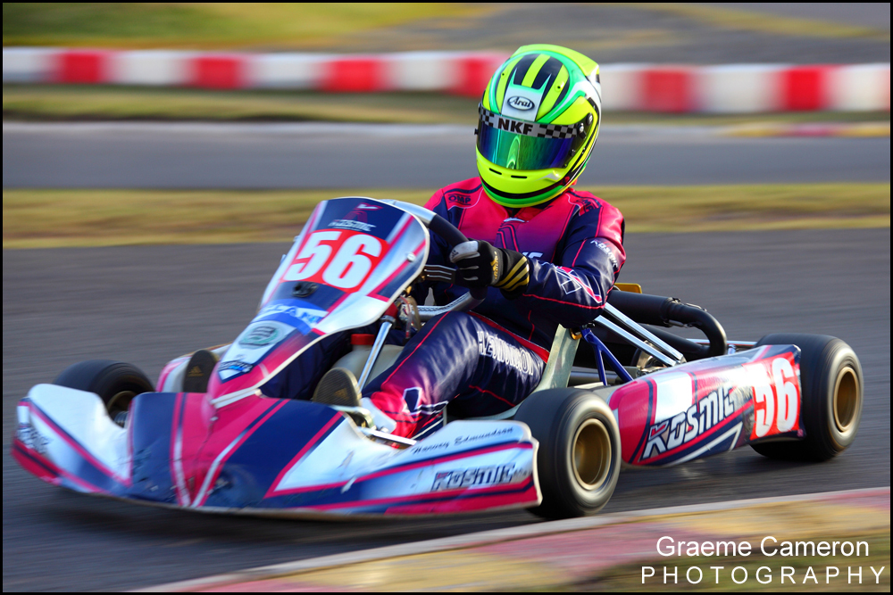 Kart racing photography Rowrah