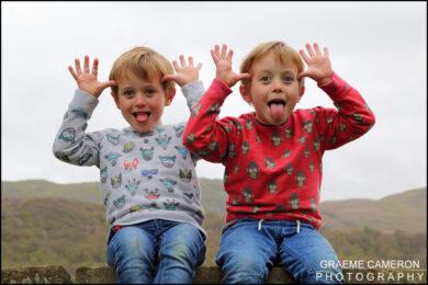 Fun Family Portrait Photography in Cumbria