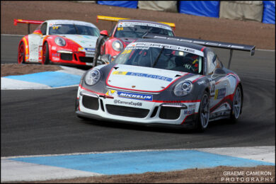 Porsche Carrera Cup GB Knockhill