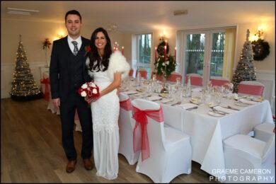 Hunday Manor Winter Wedding