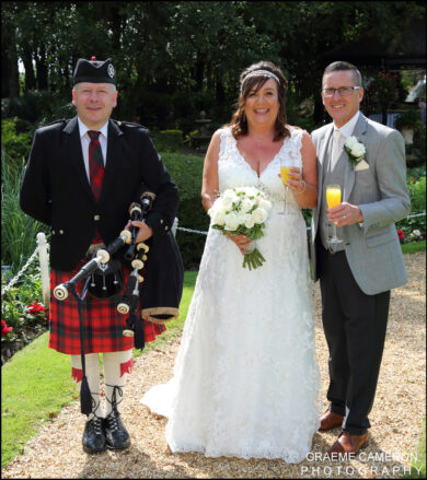 Wedding Bagpiper North West