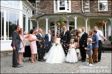 Wordsworth Hotel Grasmere Wedding Photos