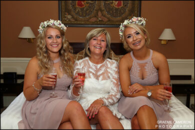 Crown Hotel Wedding Photographs
