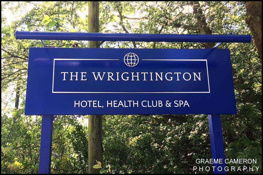 Wedding Photographer Wrightington Hotel