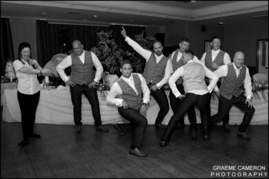Wedding Photography Singing Waiters