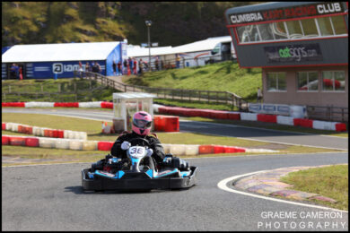 David Coulthard Rowrah Karting